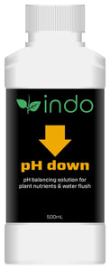Indo pH Down - helps maintain optimum pH levels