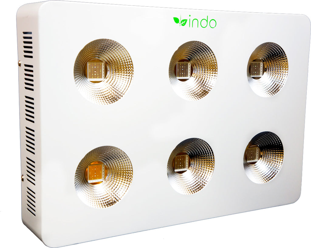 Indo Products LED High Intensity COB Grow Light 1200W with reflectors