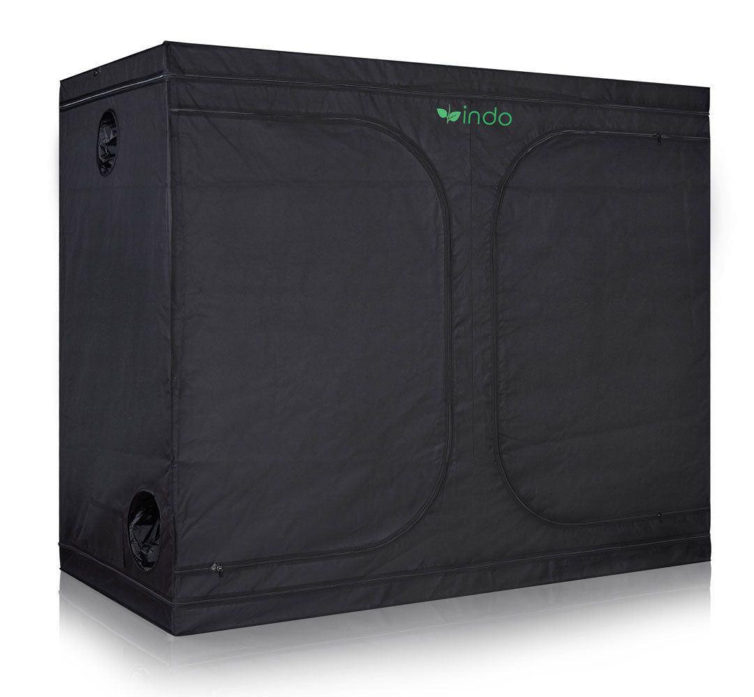 "Grow Tent - 96"" x 48"" x 80"" 1680D Oxford Mylar Fabric - 19mm Steel Frame - Highly Reflective Inside - Heavy Duty Zippers"