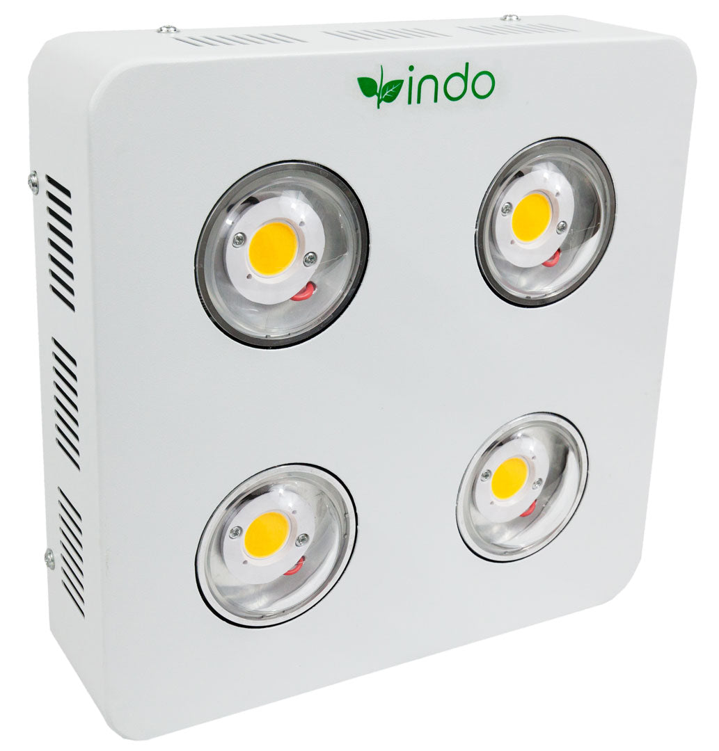 COB LED Grow Light 800W - CREE Full-Spectrum - 4 x COB Lamps - 200W (actual draw)