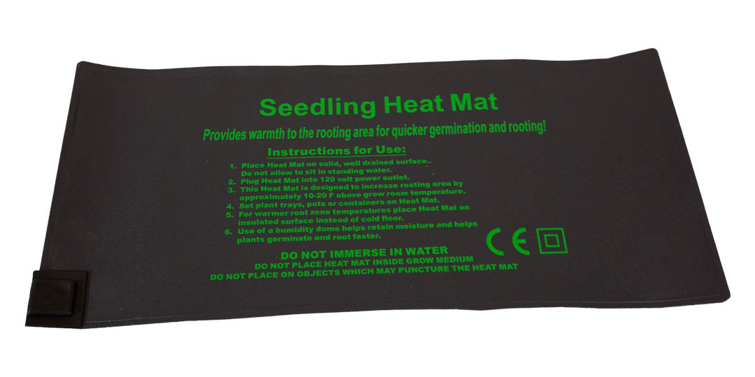 "Germination Heating Mat. -18W - 19.5"" x 9"" - 120V"