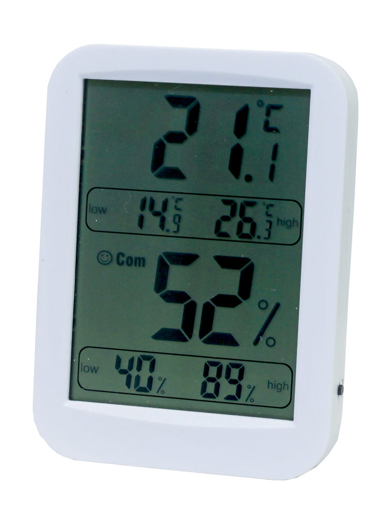 Indoor Digital Hygrometer and Thermometer - Temperature and Humidity Gauge