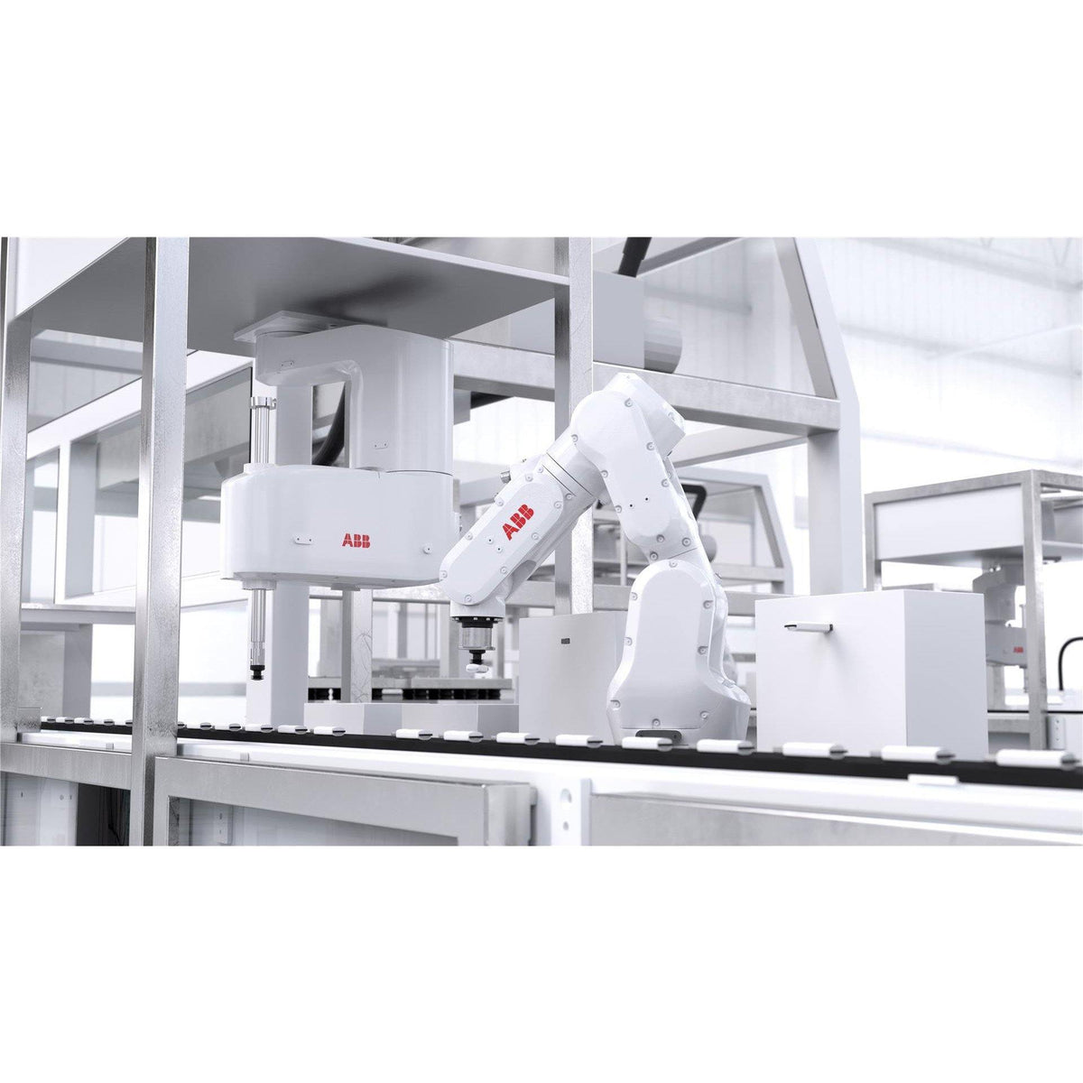ABB IRB 1100 - The Most Compact and Fast Robot Ever - Pose 4