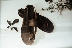 Humay Leather sandals
