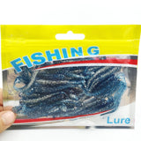 30PCS New hot sale Lure spiral T fish soft bait