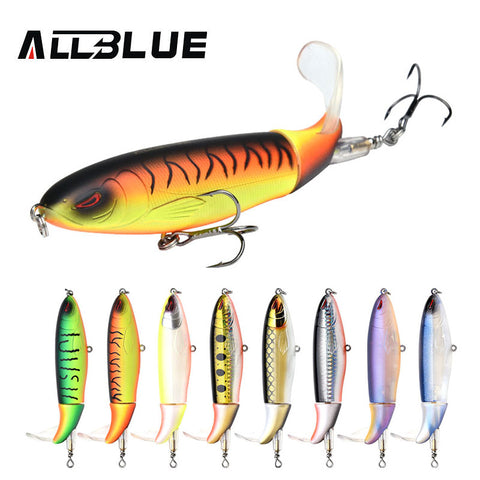 ALLBLUE Whopper Popper 9cm/11cm/13cm Topwater Fishing Lure