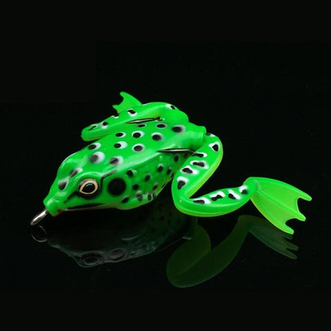 5CM 12G Small Plastic Frog Lure Snakehead Lure