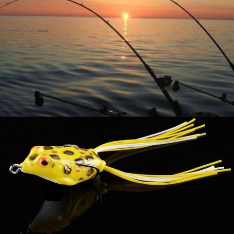 1Pc Cute Ray frog Topwater Bait