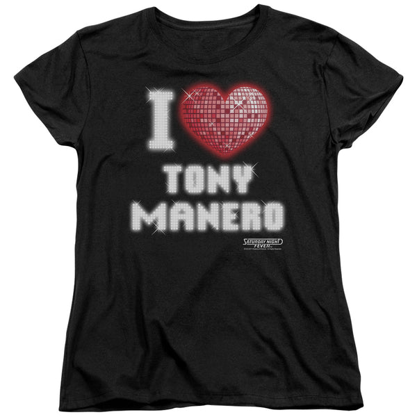 Saturday Night Fever - I Heart Tony Short Sleeve Women's Tee