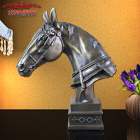 2016 Special Offer New European Horse Ornaments Opening Housewarming Gift Home Furnishing Living Room Decor Resin Crafts