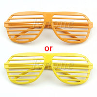 1pcs Fashion Sunglasses Shutter Stronger Shades Glasses Retro Club Party Rave Hip New