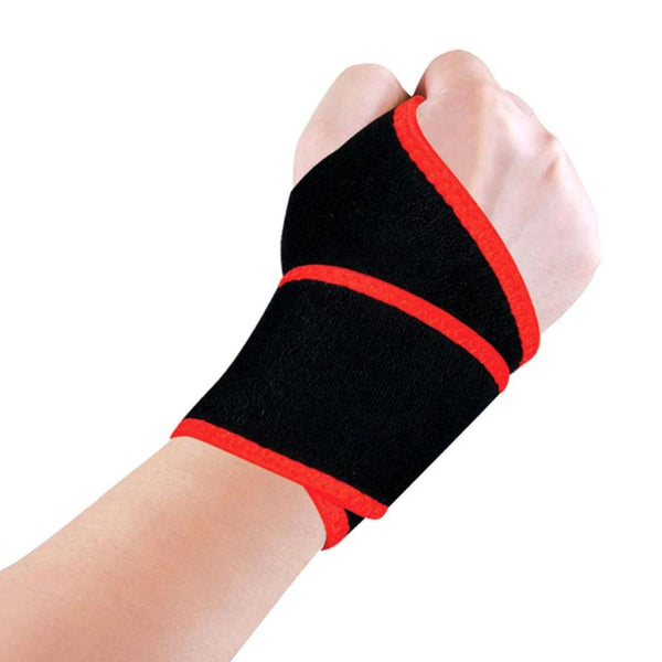 1PC Weight Lifting Sport Wristband Gym Wrist Brace Support Strap Wraps Bandage Fitness Training Safety #EW