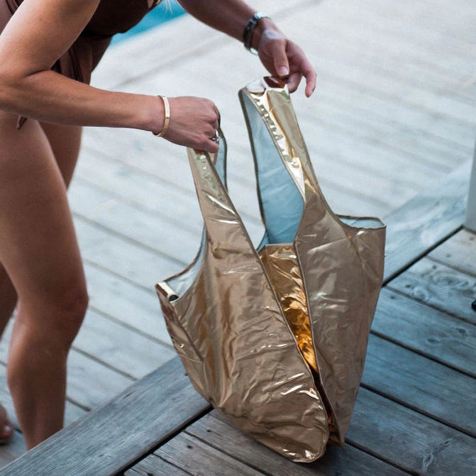 Recycled Ocean Plastic shopping bag