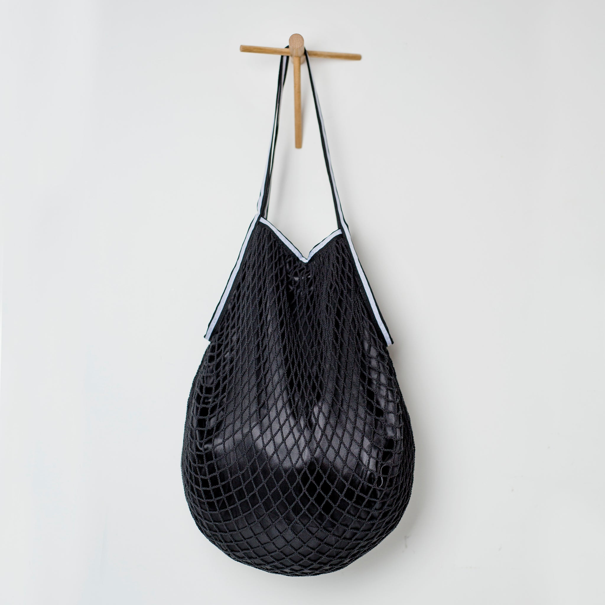 Luxury Lined Mesh Shopper