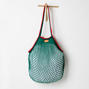Mesh Market Bag with Pocket