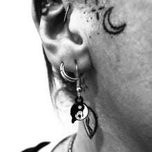 Load image into Gallery viewer, Melty Yin Yang Earrings