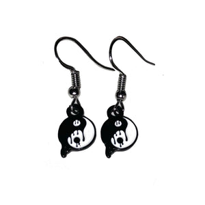Melty Yin Yang Earrings