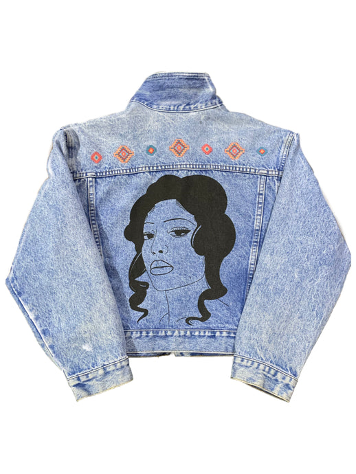 FF Vintage Denim Jacket Girl #2