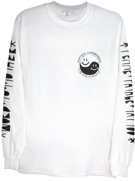 Word x FF - Happiness - Long-Sleeved Tee