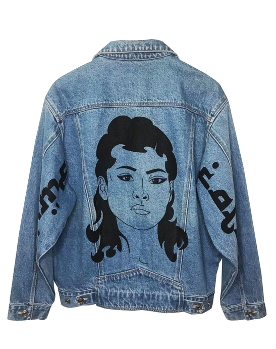 FF Vintage Denim Jacket Girl #1