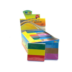 24 MMS Pack Of 3 Coloured Rolling Tips