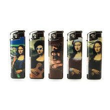 Load image into Gallery viewer, 50 x 4Smoke Electronic Printed Lighters - YZ218DK