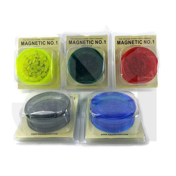 3 Parts NO.1 Magnetic Plastic 55mm Grinder