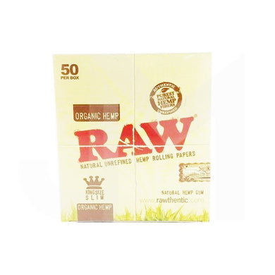 50 OCB Organic Hemp King Size Slim Papers