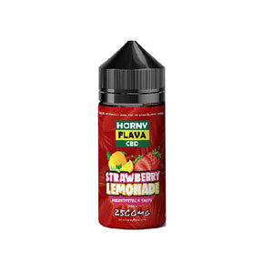 Horny Flava 2500mg CBD 120ml Shortfill E-Liquid