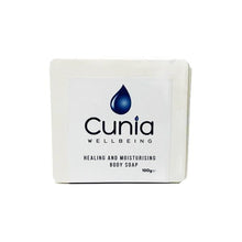 Load image into Gallery viewer, Cunia 20mg CBD Healing and Moisturising Body Soap 100g
