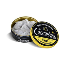 Load image into Gallery viewer, Cannadips 150mg CBD Snus Pouches - Tangy Citrus