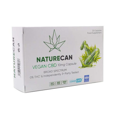 Naturecan 10mg Vegan CBD Capsules - 30 Caps