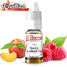 Load image into Gallery viewer, UK Flavour Fizzy Range Concentrate 0mg 10 x 10ml (Mix Ratio 15-20%)