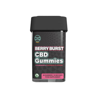 Zoetic 300mg CBD Chill Gummies - Berry Burst