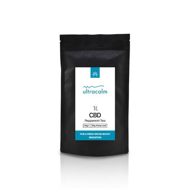 Ultracalm 3% CBD Hemp Tea - Peppermint 40g