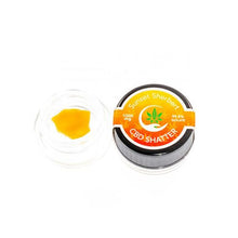 Load image into Gallery viewer, CBD Leafline 1000mg CBD Shatter (99.5%) Sunset Sherbert 1g