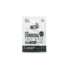 Load image into Gallery viewer, CBDfx 20mg CBD Face Mask - Charcoal