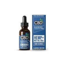 Load image into Gallery viewer, CBDfx Blueberry Pineapple Lemon 30ml CBD Tincture Oil - 500/1000/1500 MGs
