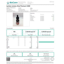 Load image into Gallery viewer, CBDfx Lychee Lemon Kiwi 30ml CBD Tincture Oil - 500/1000/1500 MGs