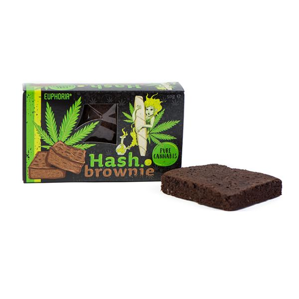 Euphoria Hash Brownie Pure Cannabis