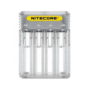 Nitecore New Q4 Charger -Black/Clear