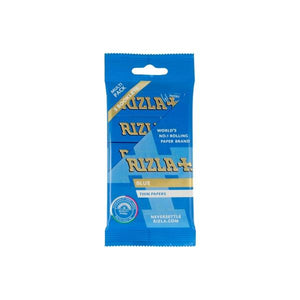 5 Pack Blue Regular Rizla Rolling Papers (Flow Pack)