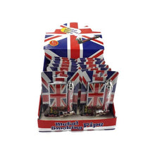 Load image into Gallery viewer, Metal Union Jack Pipe Set with Lighter & Screens - 8CM - TZ1003U