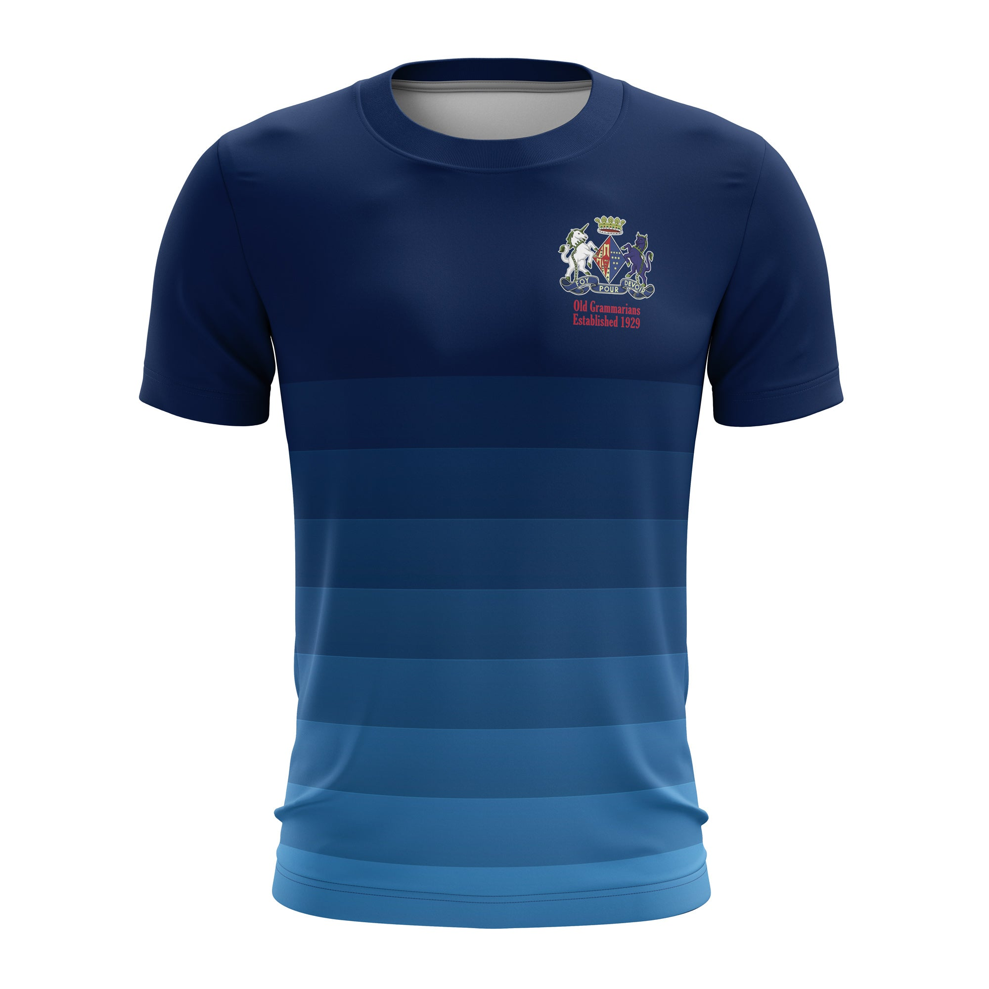 OGRFC Junior Navy Training Top