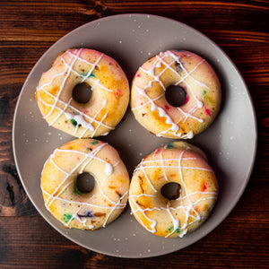 Load image into Gallery viewer, Funfetti Protein Donuts