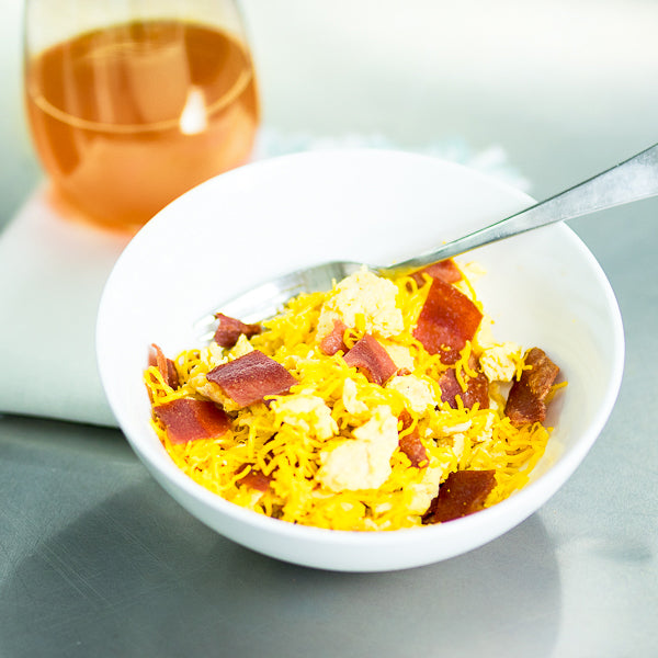 Turkey Bacon Scrambler