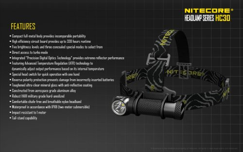Nitecore HC65 Headlamp Torch