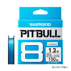 Shimano PITBULL 8 Strand JDM Braid – 200M BLUE