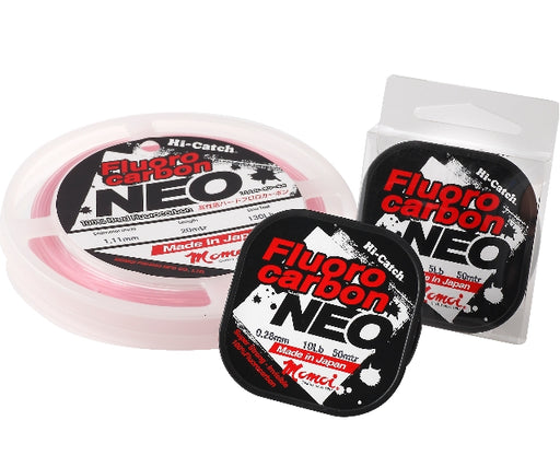 Momoi Hi-Catch Fluorocarbon NEO Pink - 30mtr