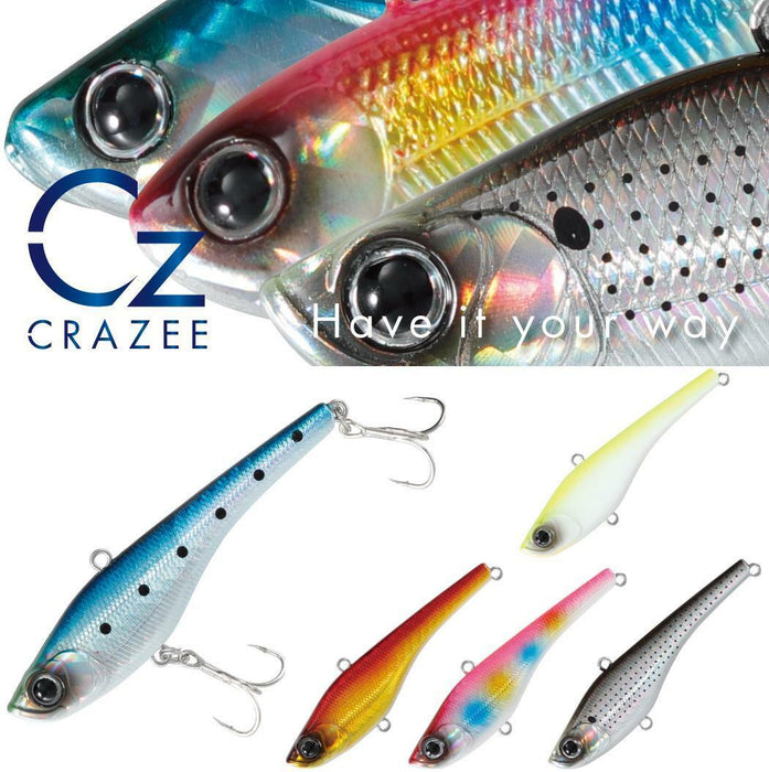Crazee Salt Vibration 80 COTTON CANDY -23g